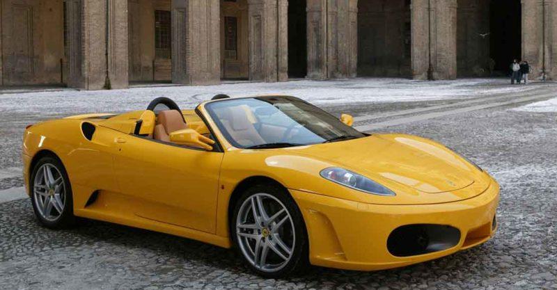 Top 10 des plus belles voitures du monde Ferrari 430 Spider