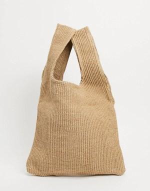 Idée de look 49 Tote bag en paille ASOS DESIGN