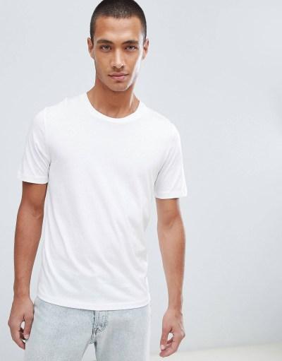 t-shirt blanc look de la semaine manche courte