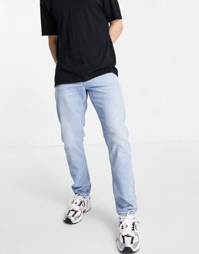 jeans homme effet délavé