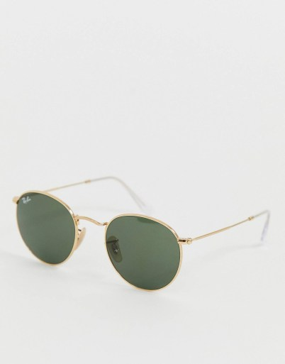 lunettes ray ban metalliques
