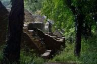 Más ruinas del pueblo de Tyneham.