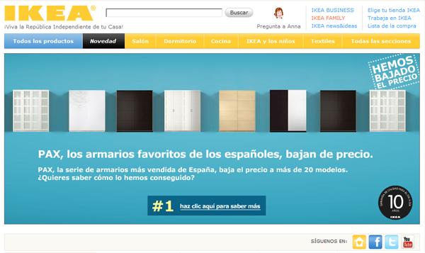 Compra muebles online for Ikea compra online