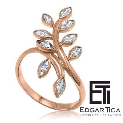 anillo de compromiso oro 18k