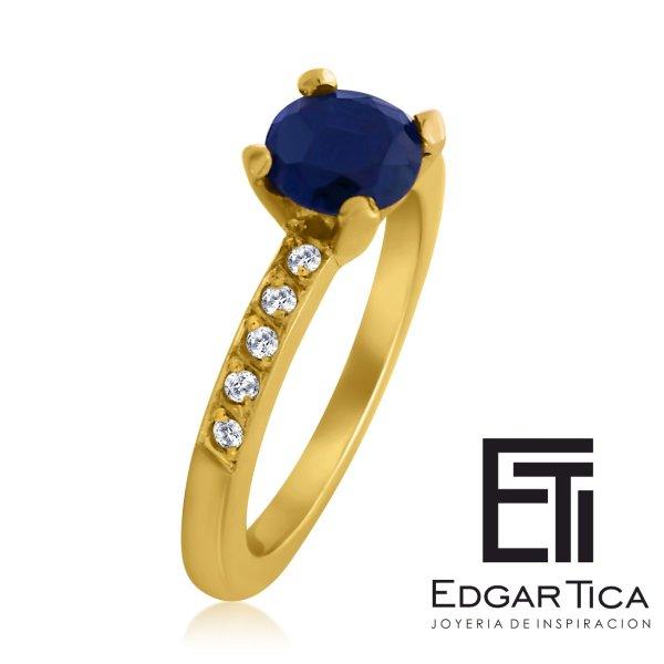 anillo de compromiso oro 18 quilates joyería peruana online con envíos a Juliaca, Andahuaylas, y Lima