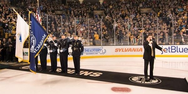 Bruins Honor Guard