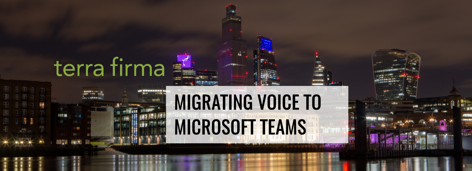 Migrating Voice to Microsoft Teams