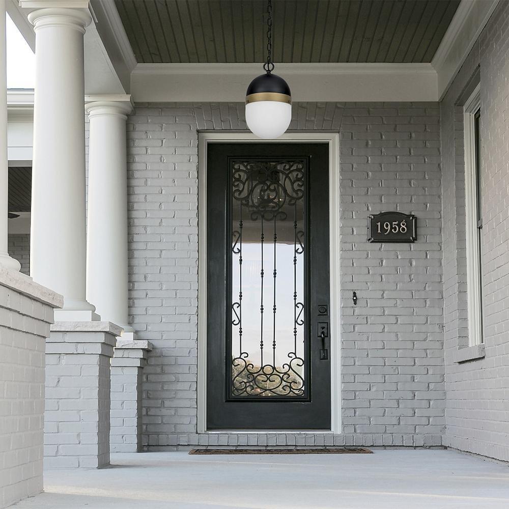 porch lighting ideas modern front