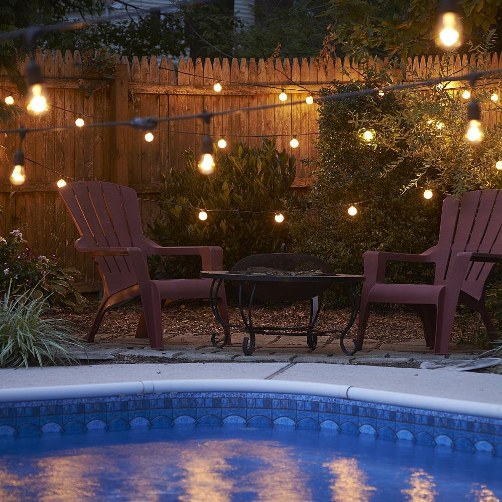 how to light your outdoor patio and