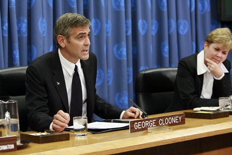 Clooney in Council