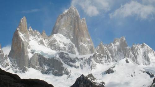 The symbol of Patagonia, Mt Fitzroy
