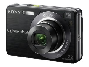 Фотоаппарат SONY Cyber-shot DSC-W120 черного цвета