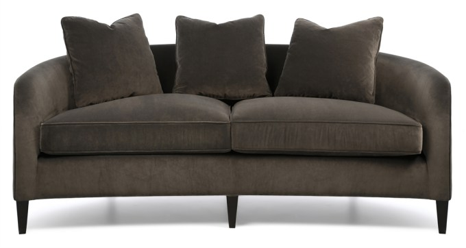 Small Curved Sofa For Bay Window