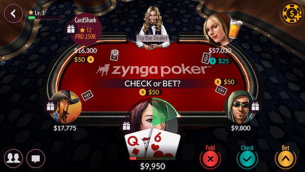 Zynga Free Holdem Poker Texas