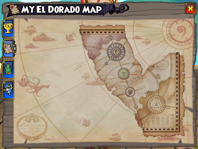 My Maps   Pirate101 Free Online Game     clicking the Map icon under  My Quests   hotkey Q   This tab will show  you all of the collected Marco Pollo map pieces  You ll learn more about  them as
