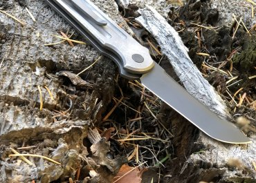 Jake Hoback Tradecraft automatic OTS knife