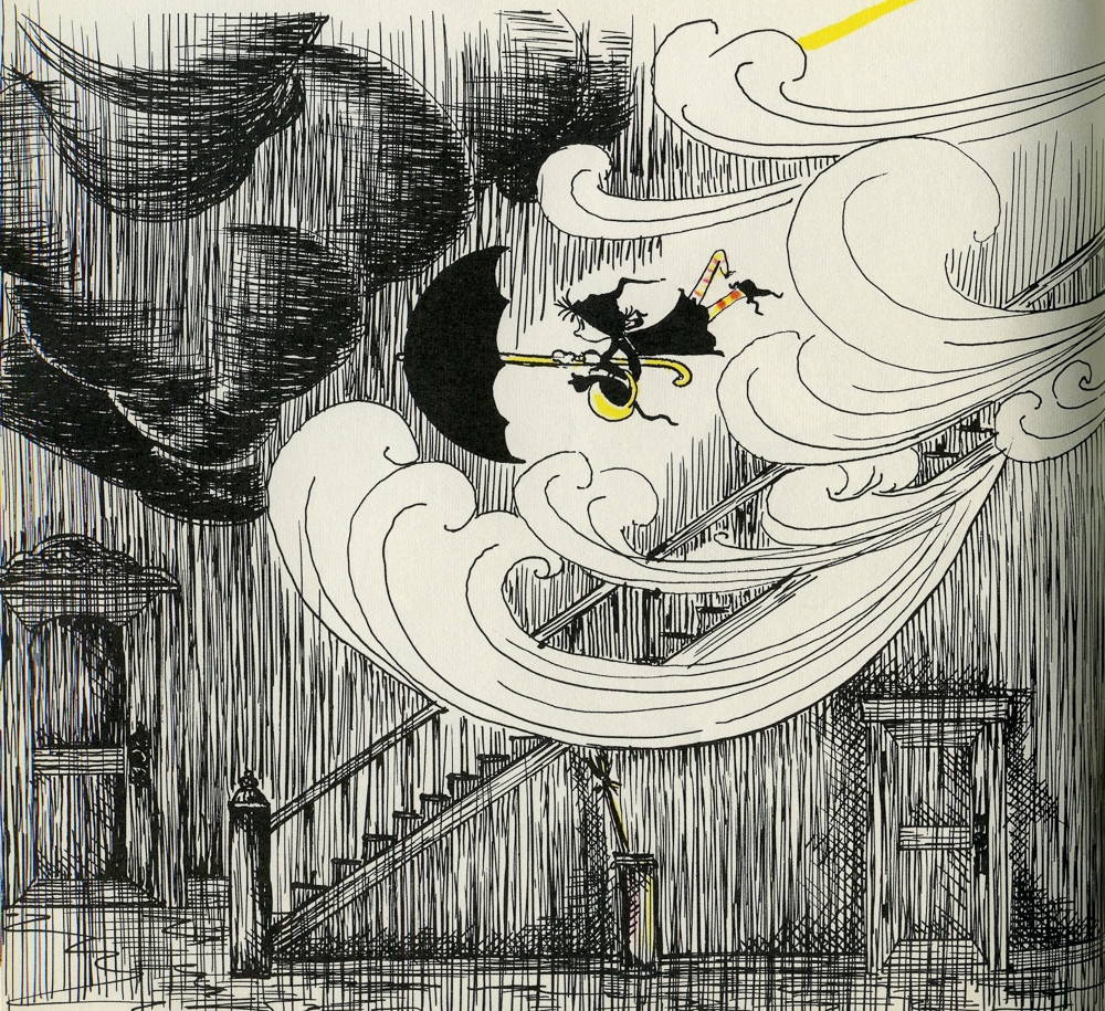 Image from Dorrie and the Weather-Box, written and illustrated by Patricia Coombs.
