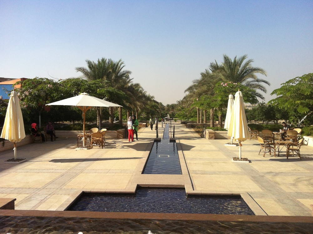 The American University in Cairo: New Cairo campus. Photo by Justin Kolb.
