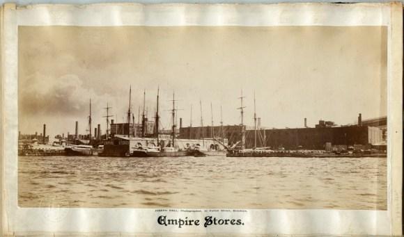 Joseph Hall, Empire Stores, 1880, v1991.90.9.1; Brooklyn Historical Society.