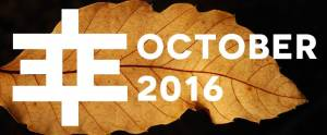 Edgy Stuff: October 2016 Recommendations