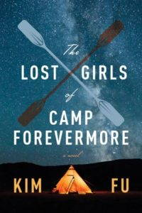 Book cover. Image of a night sky, a warmly lit tepee. Two oars for a cross inside the title.