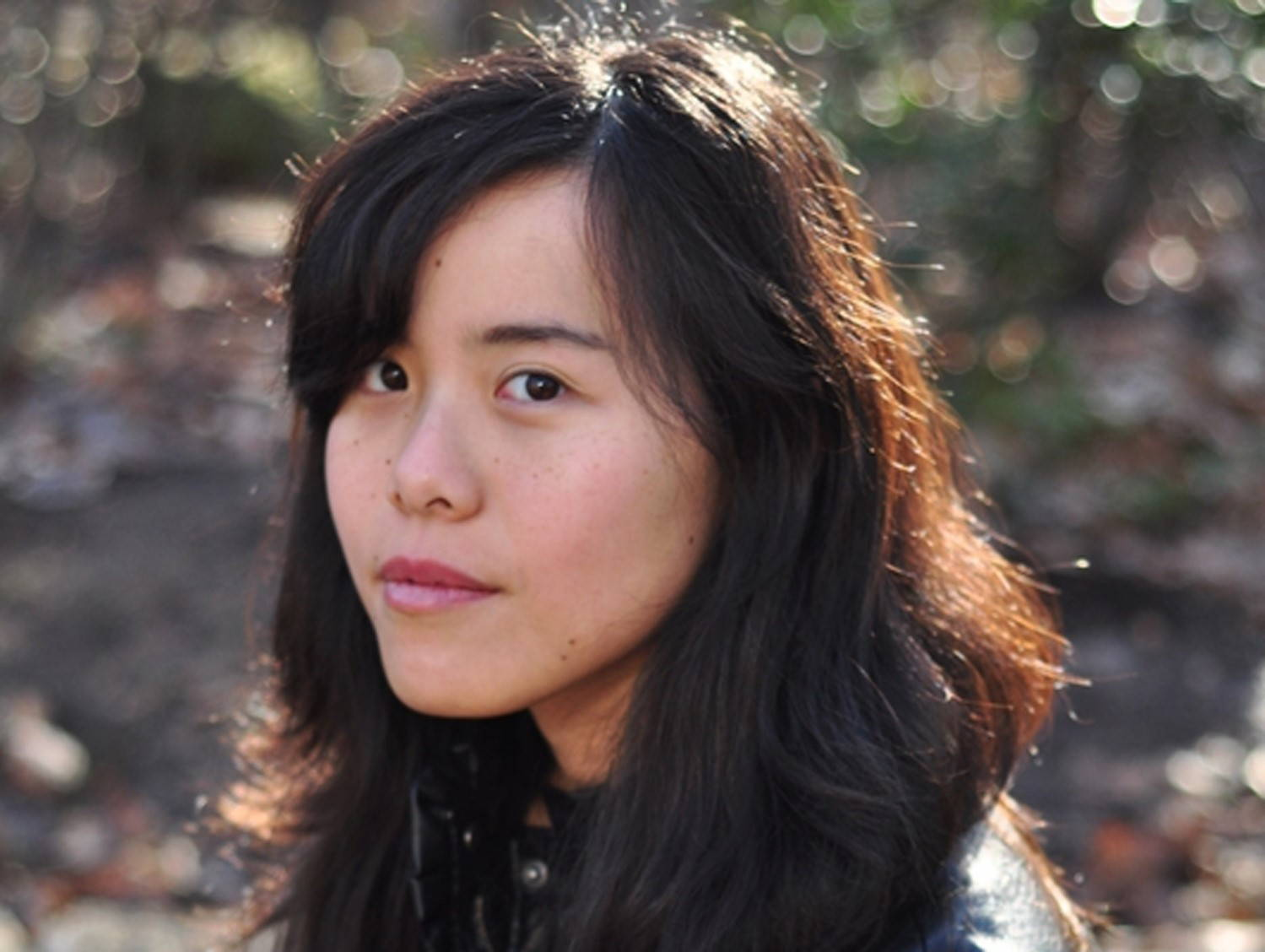 """The writer Kim Fu, author of """"The Lost Girls of Camp Forevermore."""" Photo by Laura D'Alessandro."""