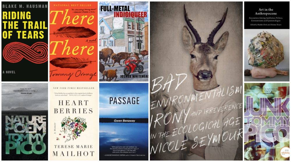 A collage of seven books covers to cite in the #metoo era