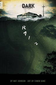 Book cover of environmental comic Dark Rain, by Mat Johnson