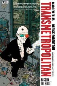 Book cover for Transmetropolitan