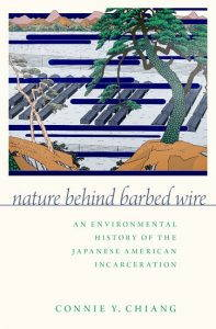 """The cover of the book """"Behind Barbed Wire"""" by Connie Y. Chiang"""