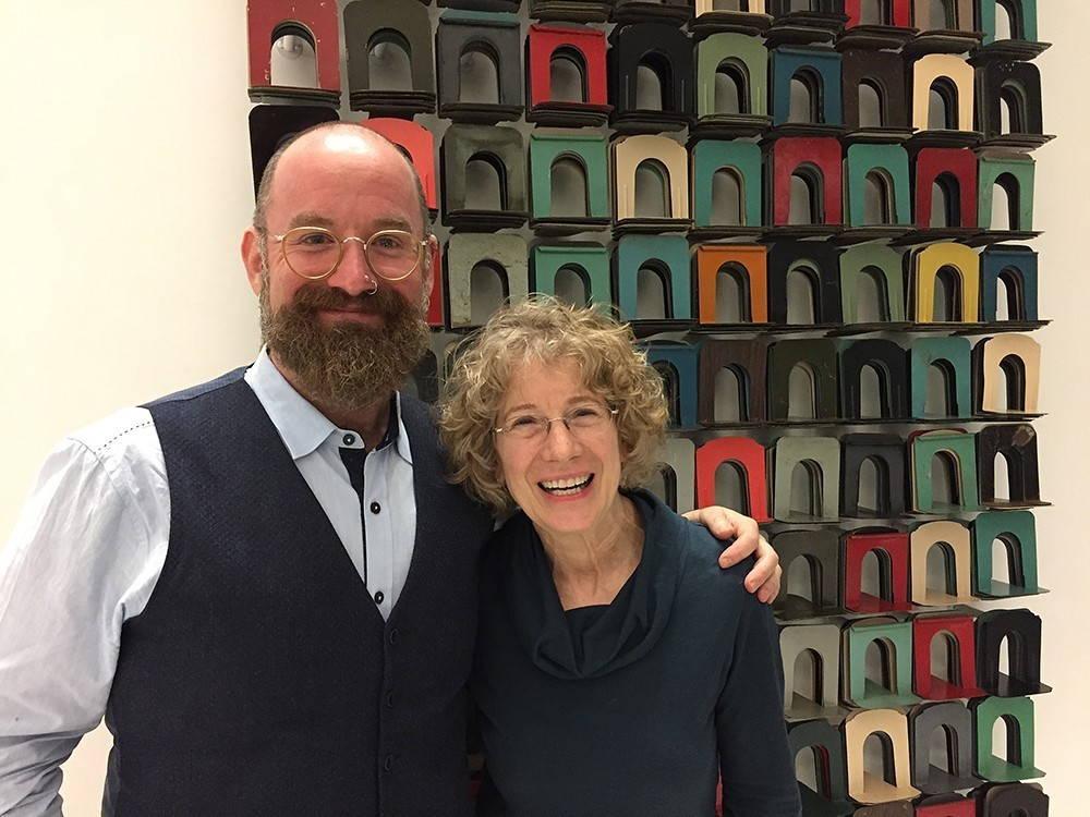 Brian Teare and Lynn Keller
