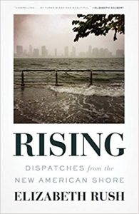 Book cover of Rising, by Elizabeth Rush.