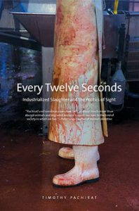 cover of every twelve seconds, a white coat covered in blood