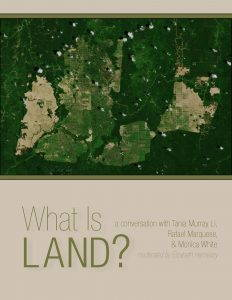 The cover of the Plantationocene Land booklet