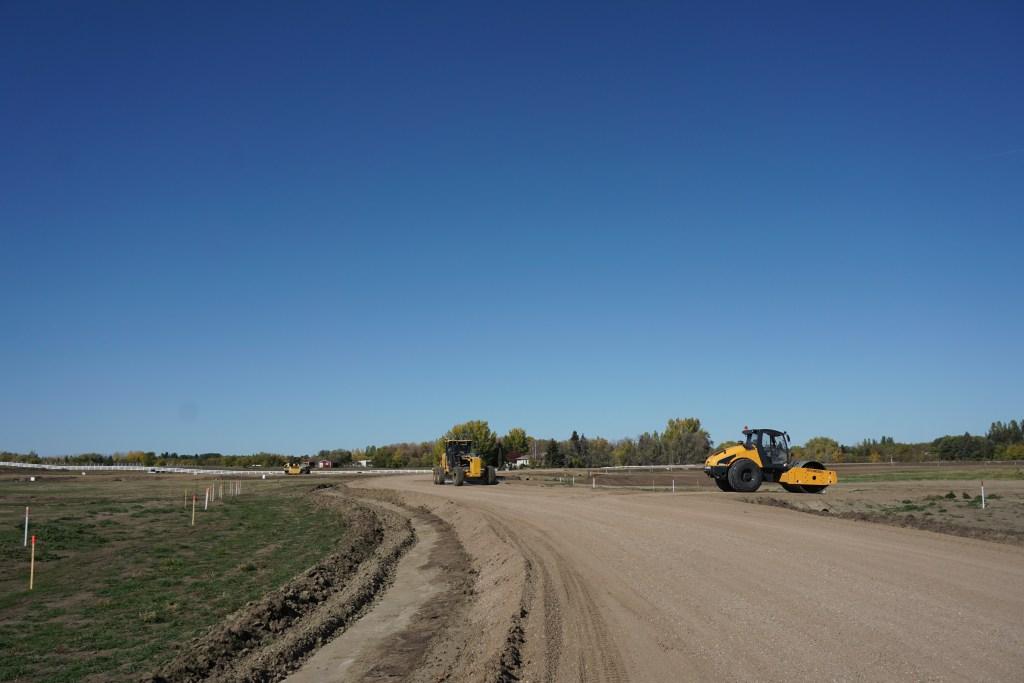 Roadwork continues