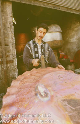 Metal Worker. Aleppo, Syria.
