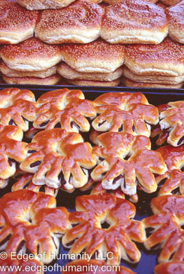 Pastry Stand, Syria.