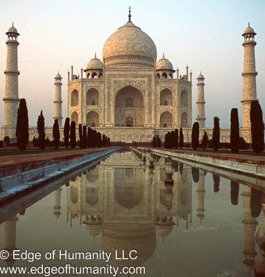 Taj Mahal - India.