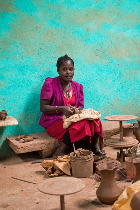 Dorze Pottery, Guge Mountains, Ethiopia