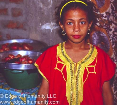 Girl from Egypt.
