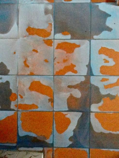 Bathroom tiles: Gachibowli, Hyderabad, India