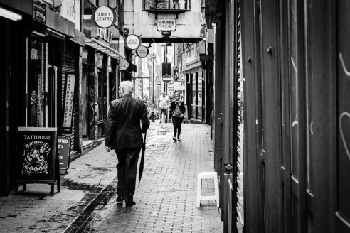 Tatoo<br />    Gentleman<br />  Soho passage, London