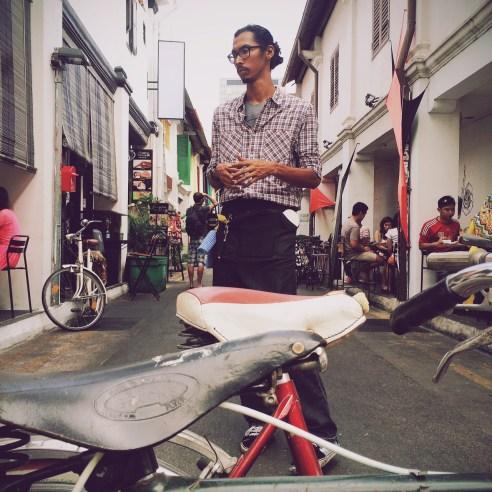 Hipster Portrait Arab Street, Singapore