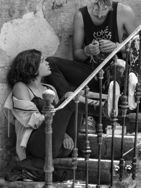 La Dama y el vagabundo - Salamanca, Spain
