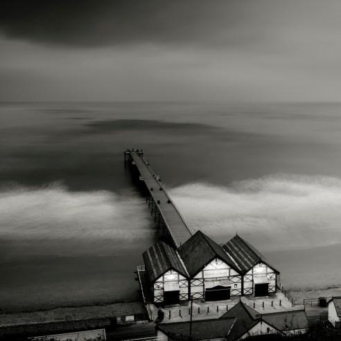Saltburn Pier By Night<br /> SALTBURN By THE SEA<br /> County of Teeside