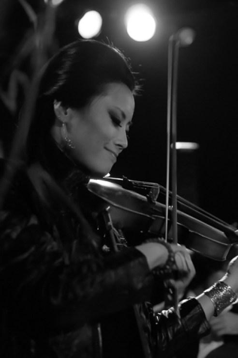 """Violinist"" Chicago, Illinois, USA"