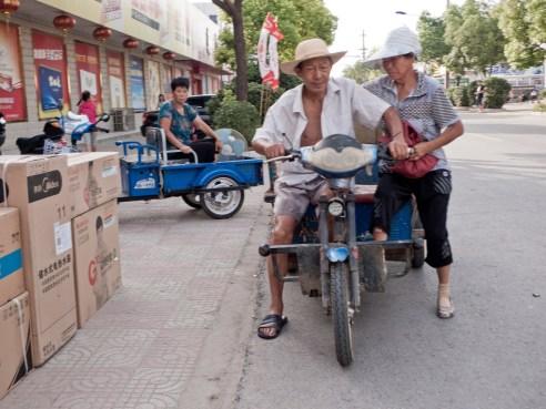 """Farming couple"" Yancheng, China"