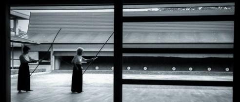 Matsuyama-Kyudo training Japan