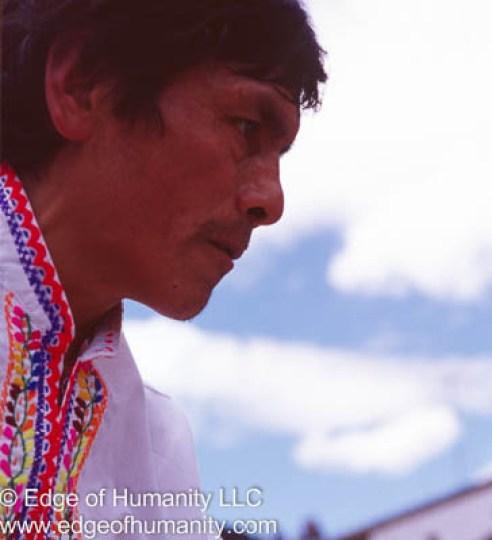 Man from Ecuador