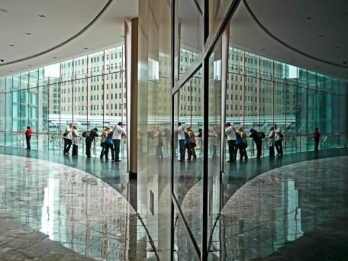 Observing Ground Zero New York, USA